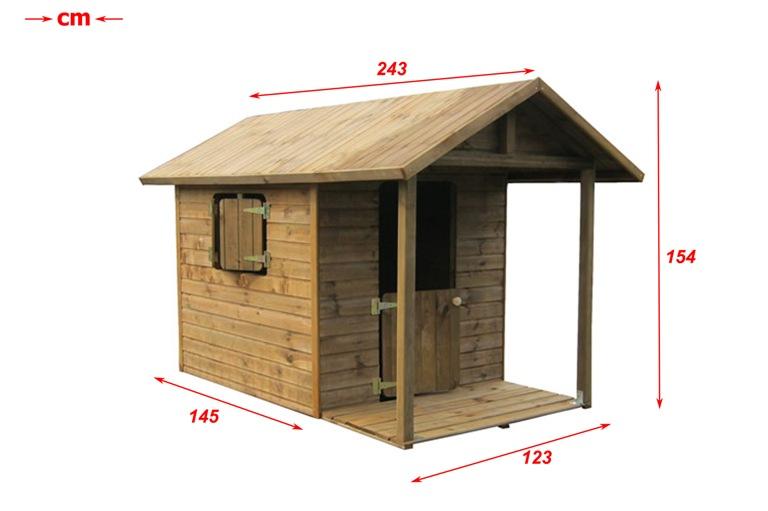Drewniany DOMEK DLA DZIECI DZIECIĘCY  FLORENCE  5094214424  oficjalne arc   -> Allegro Kuchnie Drewniane Dla Dzieci