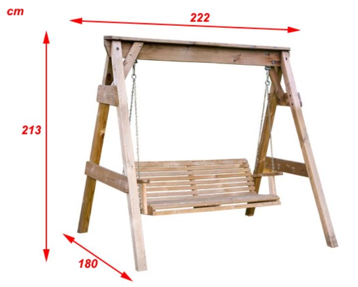 Hustawka Ogrodowa Drewniana Budowa : huśtawka ogrodowa drewniana hollywood huśtawka ogrodowa hollywood